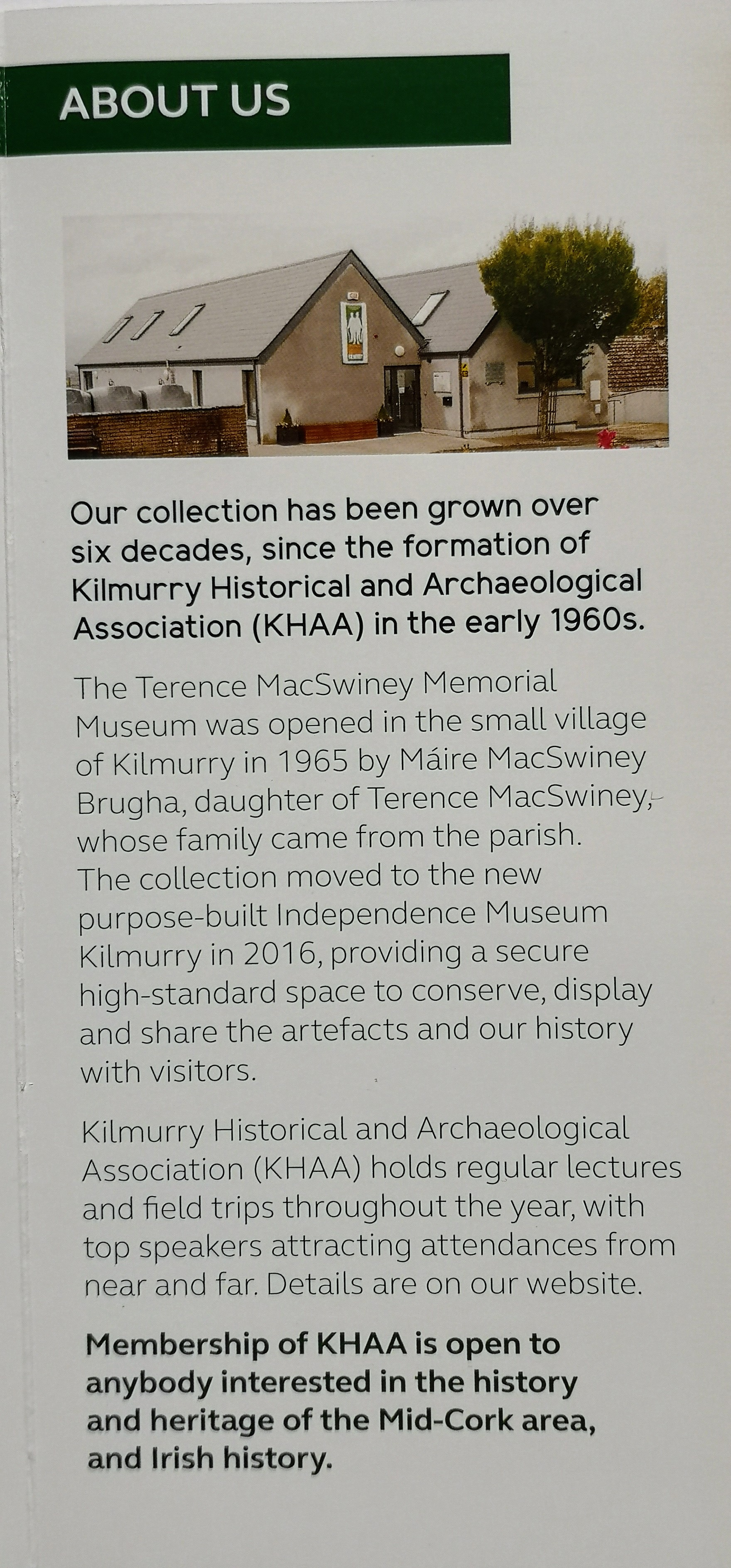 Home Page - Independence Museum Kilmurry