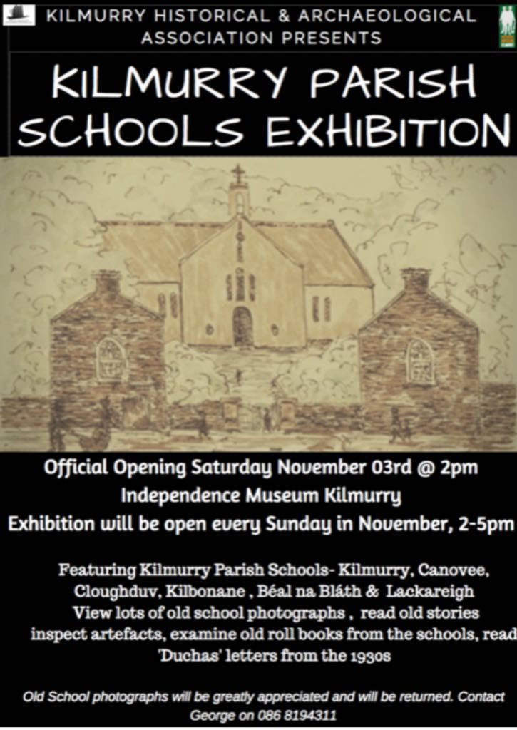 Kilmurry Parish Schools exhibition